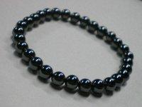 パワーストーン 念珠 ヘマタイト 大きさ:約0.5cm玉